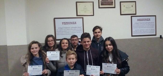 """Cinci elevi ai CNAM Dej s-au remarcat la Concursul Interjudețean """"ARGUMENT"""" – FOTO"""