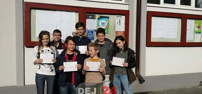 Noi premii obținute de elevii de la CNAM Dej la un concurs de matematică – FOTO