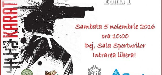 Prima ediție a Cupei SAMVS la KARATE WUKF, mâine, în Sala Sporturilor Dej
