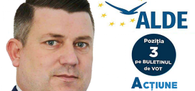 """Vicențiu Știr, candidat ALDE pentru o funcție de deputat: """"Susțin antreprenoriatul social!"""" (E)"""