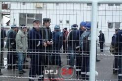 GREVĂ SPONTANĂ la Salina Ocna Dej! 100 de muncitori AU ÎNTRERUPT ACTIVITATEA! – FOTO/VIDEO