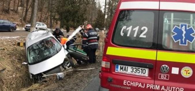 ACCIDENT cu mai multe victime între Gâlgău și Gura Vlădesei! Au intervenit salvatori din două județe – FOTO/VIDEO