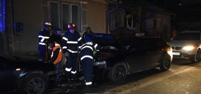 ACCIDENT cu PATRU VICTIME pe o stradă din Dej – FOTO/VIDEO