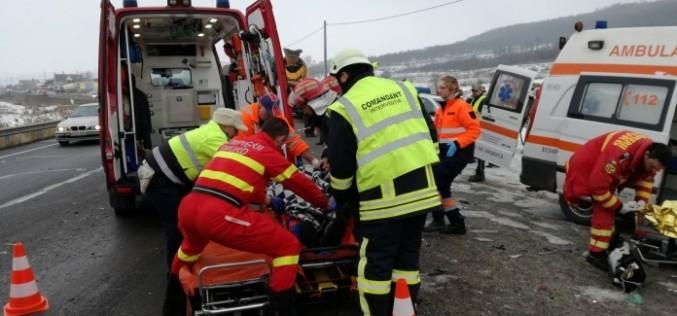 GRAV ACCIDENT între Dej și Bistrița! Viețile a două tinere au fost CURMATE brusc – FOTO/VIDEO