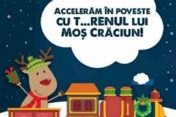 """Iniţiativă CFR Călători. """"T…RENul lui Moș Crăciun"""": o călătorie de poveste!"""