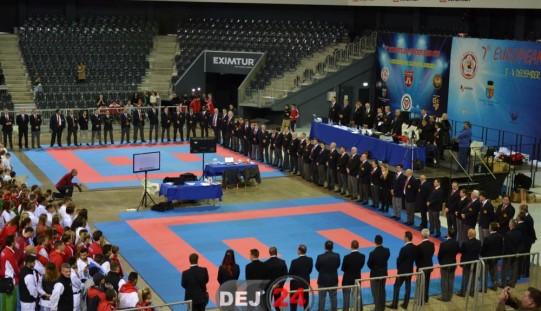 Sportivii Budokan Ryu, figură frumoasă la Cupa Campionilor Europeni la Karate WUKF – FOTO