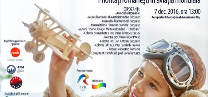 """Eveniment expozițional inedit la Aeroportul Internaţional """"Avram Iancu"""" Cluj"""