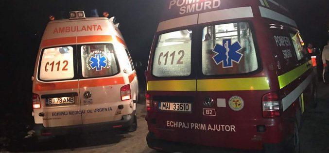 GRAV ACCIDENT pe DN1C, între Dej și Baia Mare! IMPACT între un TIR și un autoturism – FOTO