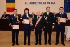 Cei mai merituoși polițiști din IPJ Cluj, premiați. Dejul nu s-a remarcat – FOTO/VIDEO