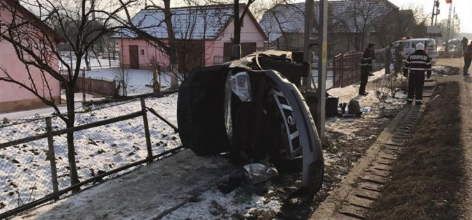 ACCIDENT în Iclod, soldat cu patru VICTIME – FOTO/VIDEO