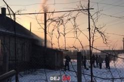 INCENDIU la o casă din Cuzdrioara! Pompierii din Dej au intervenit de urgență la fața locului – FOTO