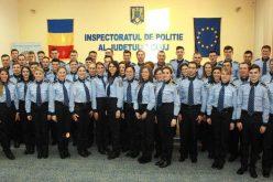 Mai mulți agenți de poliție, câțiva și din Dej, au depus astăzi Jurământul de Credință – FOTO