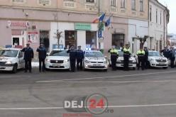 Polițiștii din Dej, MOMENT DE RECULEGERE pentru colegul lor NISTOR GHEORGHE, ucis în sediul Poliției Vișeu de Jos – FOTO/VIDEO
