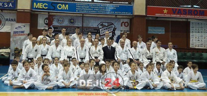 Stagiu de pregătire pentru taekwondo-iştii din Dej – FOTO