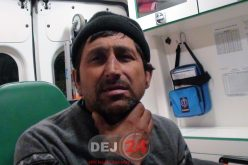 Un bărbat din Cășeiu susține că A FOST STRÂNS DE GÂT de un pădurar – FOTO/VIDEO