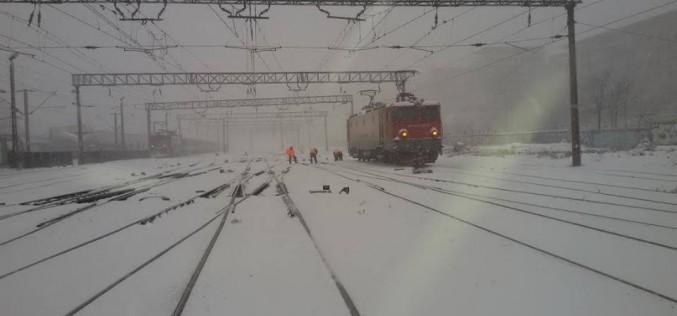 Circulația feroviară, adaptată la condițiile meteo! Temperaturi record înregistrate la nivelul șinelor