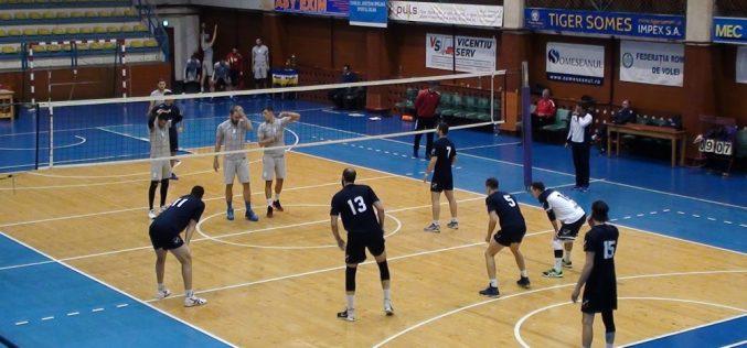 VOLEI – Unirea Dej a pierdut meciul cu Știința Explorări Baia Mare, scor 1-3 (AMICAL)