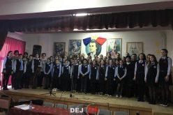 Mihai Eminescu, omagiat la școala din Dej care îi poartă numele – FOTO/VIDEO