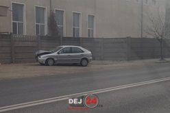 GRAV ACCIDENT pe strada 1 Mai din Dej. Două persoane au ajuns la spital – FOTO