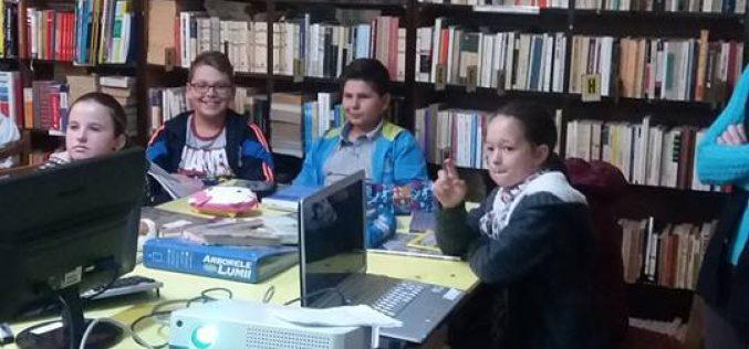 """Elevii Colegiului Național """"Andrei Mureșanu"""" Dej au """"călătorit în imaginație"""" – FOTO"""