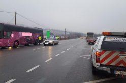 Acțiune preventivă a polițiștilor pe DN1C, Dej – Cluj-Napoca. Vizați, transportatorii de persoane și mărfuri – FOTO