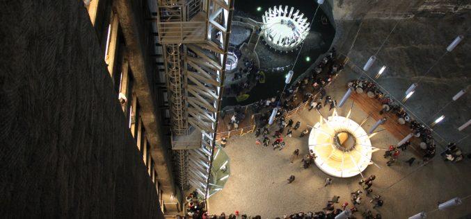 Salina Turda, record de turiști în 2016! Peste 600.000 de vizitatori au intrat în subteran