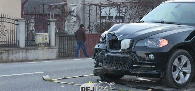 ACCIDENT pe DN1C, între Dej și Baia Mare! Traficul a fost serios perturbat, la ieșire din Glod