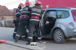 Șofer BEAT, ACCIDENT la Coplean! O femeie a ajuns la spital – FOTO/VIDEO