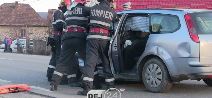 Șofer BEAT, ACCIDENT la Coplean! O femeie a ajuns la spital – FOTO/VIDEO