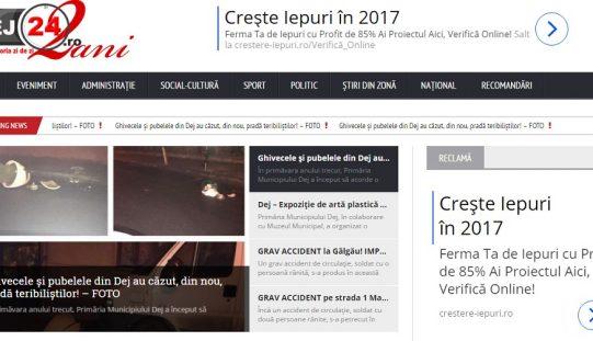 """Dej24.ro – De 2 ANI """"SCRIEM ISTORIA ZI DE ZI"""" alături de voi – ANIVERSARE"""