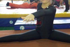 Elevă din Cășeiu, mențiune la un concurs de gimnastică artistică – FOTO