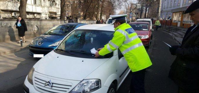 Atenție șoferi! S-a dat startul ridicării mașinilor parcate neregulamentar în Cluj-Napoca