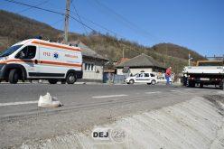 GRAV ACCIDENT în Dej! O minoră a fost izbită în plin de o autoutilitară – FOTO/VIDEO