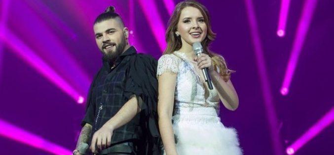 Ilinca și Alex Florea s-au calificat în Finala Eurovision