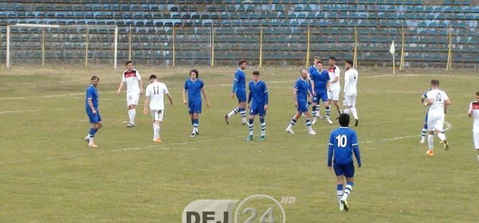 FC Unirea Dej, ÎNVINSĂ în MINUTUL 93 de Recea. Avea 2-1 în minutul 90!!