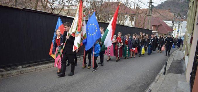 Sărbătoare în comunitatea maghiară din Dej! A fost marcată Ziua Maghiarilor de Pretutindeni – FOTO