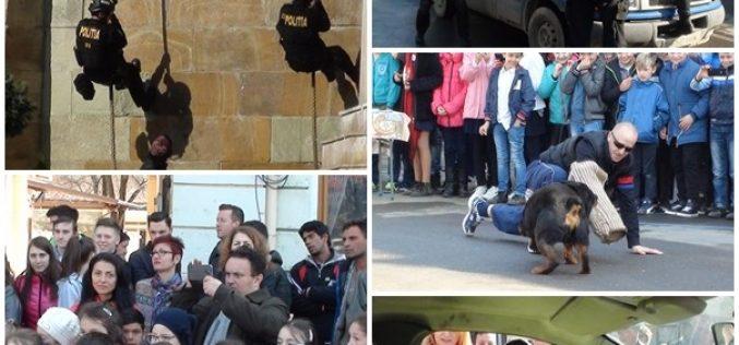 Desfășurare impresionantă de forțe la Dej! Polițiștii au fost la înălțime – FOTO/VIDEO