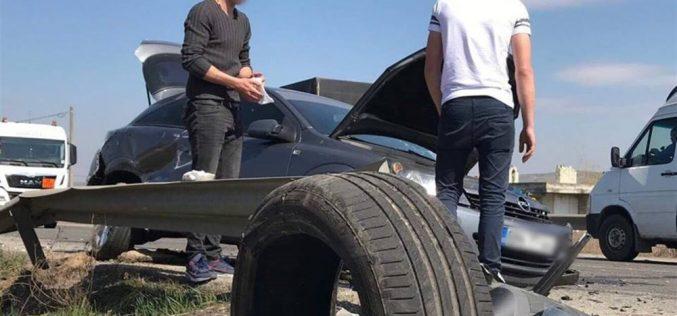 ACCIDENT pe DN1C, la Bunești! Două mașini au fost serios avariate – FOTO/VIDEO