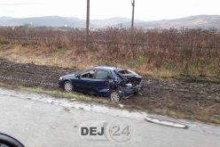 Două accidente de circulație în Livada. Șofer din Dej, implicat într-unul dintre ele – FOTO