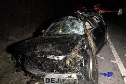 Accident MORTAL la ieșire din Câțcău. Un tânăr de 27 de ani A MURIT – FOTO/VIDEO