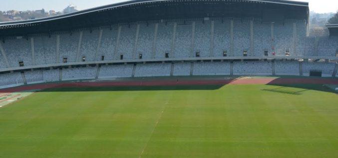 Gazonul de pe Cluj Arena se prezintă în condiții excelente pentru meciul cu Danemarca – FOTO