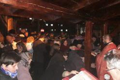 Program liturgic special la biserica din incinta Spitalului Municipal Dej – FOTO