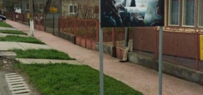 Modalitatea inedită prin care autoritățile din Bistrița Năsăud luptă pentru un trafic mai sigur – FOTO