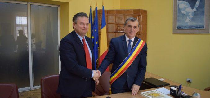 Acord de parteneriat între Primăria Dej şi Uniunea Naţională a Patronatului Român – FOTO/VIDEO
