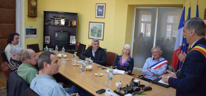 Delegație franceză din Beauvais și Fouilloy, vizită la Primăria Municipiului Dej – FOTO
