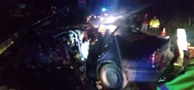 ACCIDENT MORTAL în Bistrița Năsăud! PATRU tineri și-au pierdut viața – FOTO