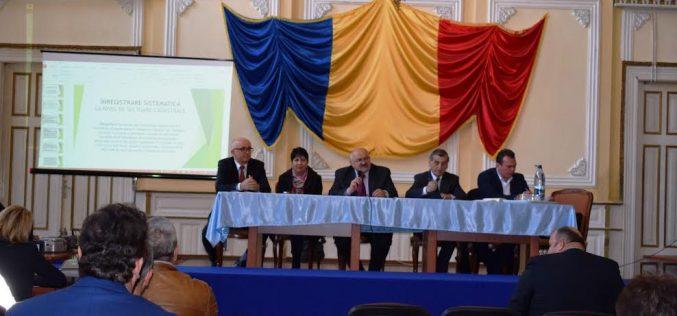 Prefectul Gheorghe Vușcan, prezent la Dej în cadrul unei întâlniri pe teme cadastrale – FOTO