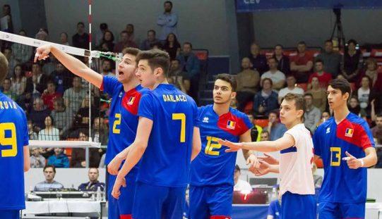 """""""Tricolorii"""" de la LAPI Dej, ELIMINAȚI de la Campionatul European de Volei U19"""