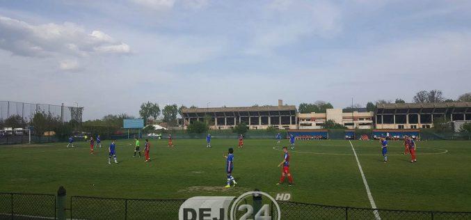 FC Unirea Dej a luat trei goluri în 10 minute la Târgu Mureș și a pierdut – FOTO
