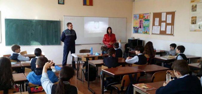 Activități preventive ale polițiștilor la Dej – FOTO/VIDEO